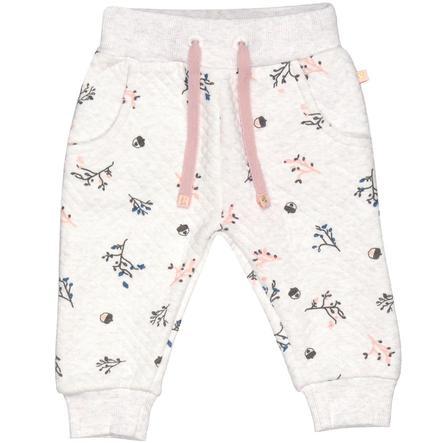 STACCATO Boys spodnie dresowe krem melanżowy melange aop