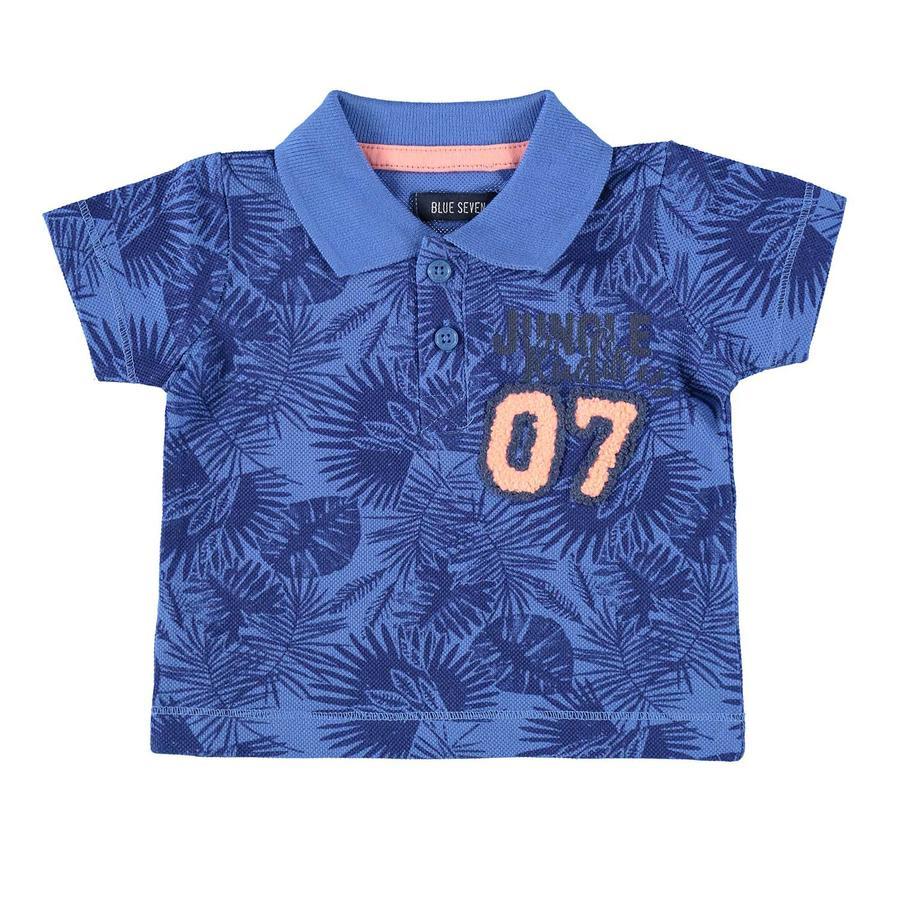 BLUE SEVEN Poloshirt blau