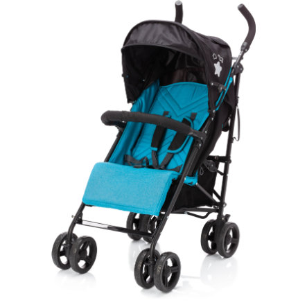 fillikid Buggy Explorer nero-turchese