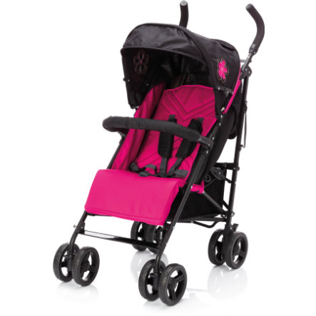 fillikid Buggy Explorer nero-rosa