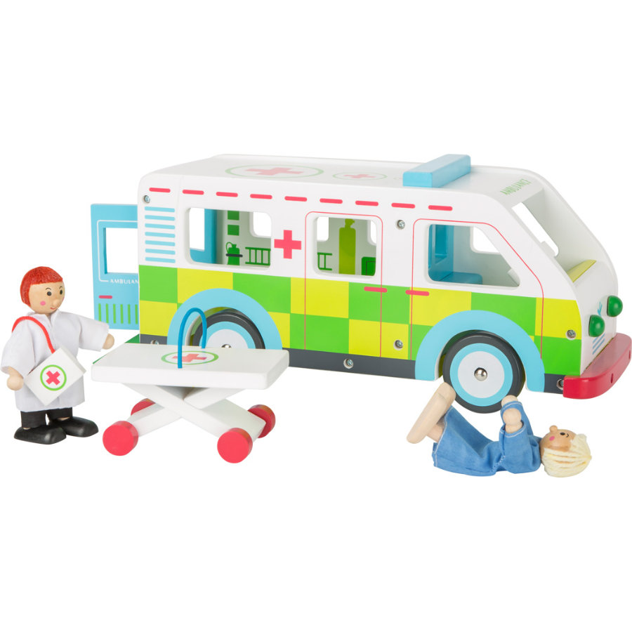 small foot world® Legetøjsambulance