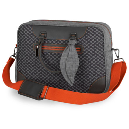 Kiddy Pusletaske Heritage Collection Retro Charcoal