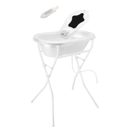 Rotho Babydesign Estación de baño Top white