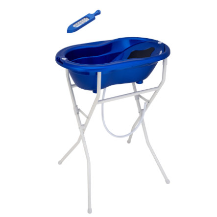 Rotho Set de bain bébé TOP 5 pcs. bleu roi