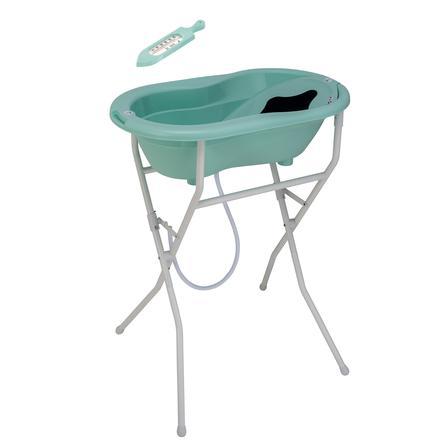 Rotho Set bain baignoire sur pieds bébé TOP 5 pcs. vert suédois