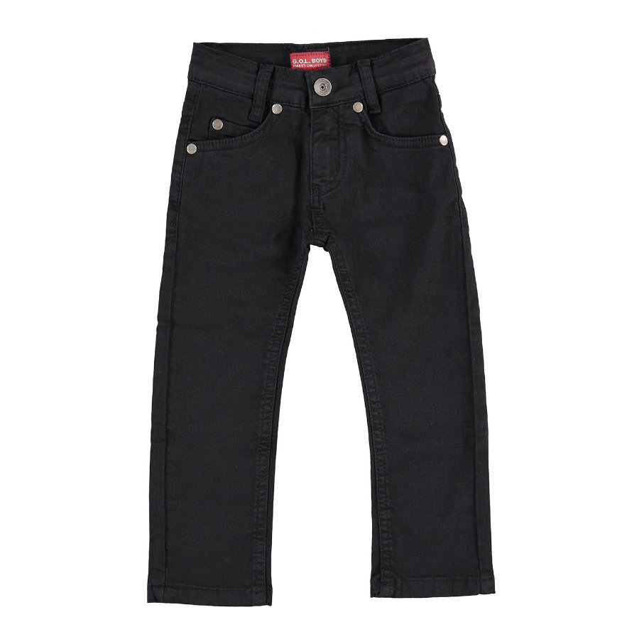 G.O.L Boys -Coloured-Jeans Slim-fit nero
