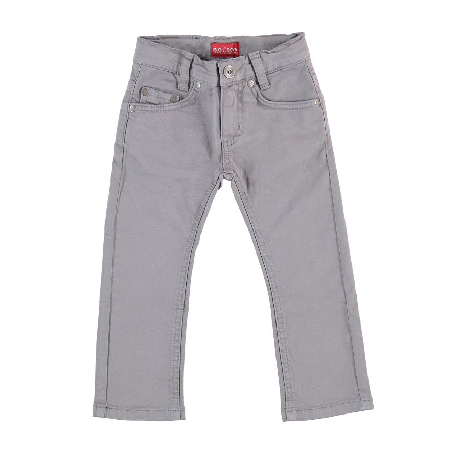 G.O.L Boys -Coloured-Jeans Slim-fit gris