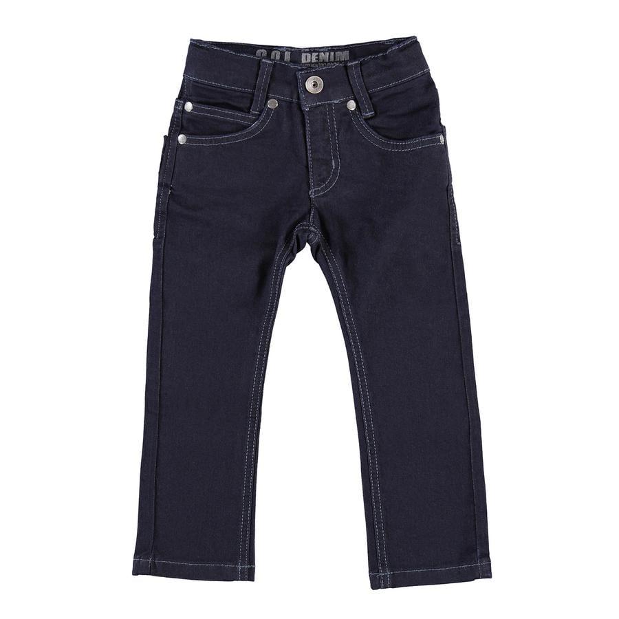 GOL Tube Jeans Slim-fit mörkblå