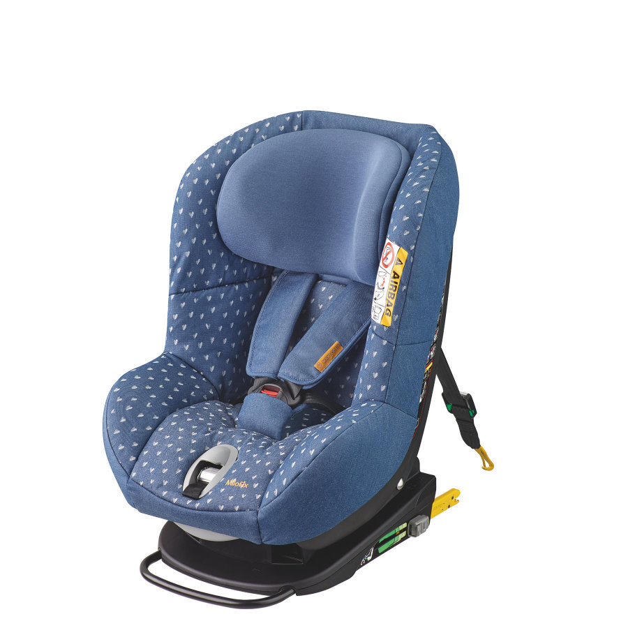 MAXI-COSI® Kindersitz MiloFix Denim hearts Limited Edition