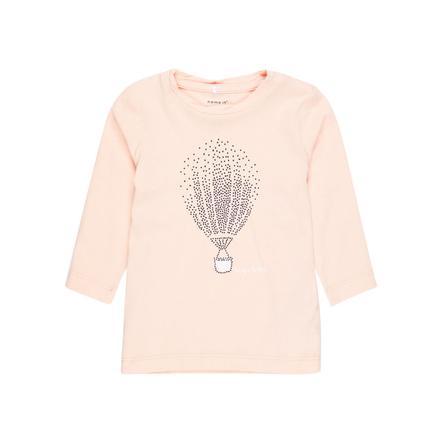 name it Girl s Koszula z długim rękawem Nbfgilse peachy keen