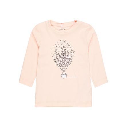 name it Girl s Overhemd met lange mouwen Nbfgilse peachy keen