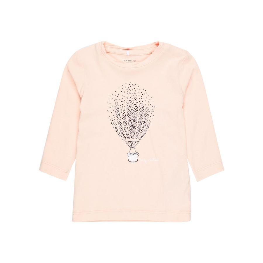 name it Girl s Camisa de manga larga Nbfgilse peachy keen