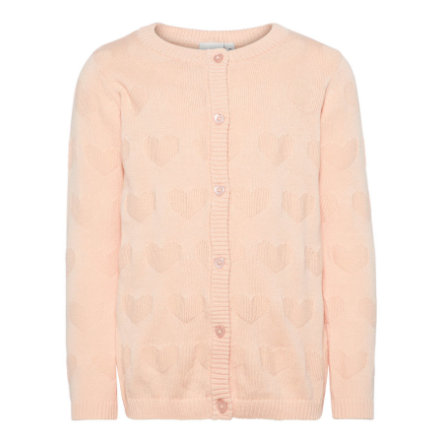 name it Girls Cardigan Nmfgiheart peachy keen