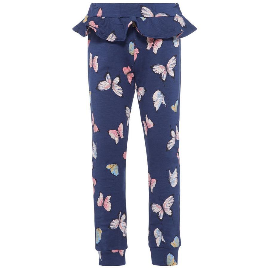 name it Girl s Pantalones de chándal Nmfgitte vestido azul