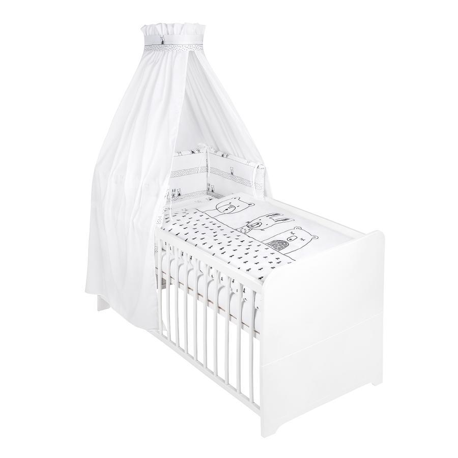 JULIUS ZÖLLNER 3-częściowy zestaw łóżkowy Grobies