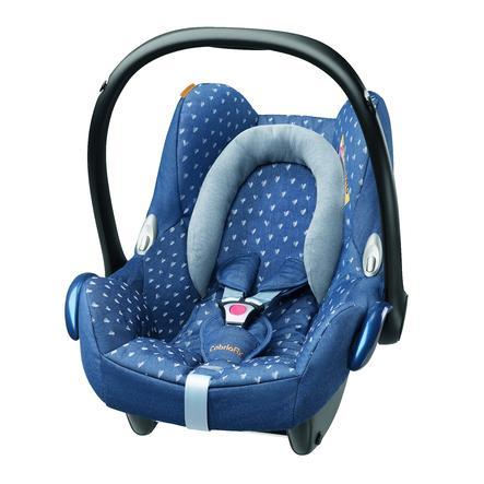 MAXI-COSI® Babyschale CabrioFix Denim hearts Limited Edition