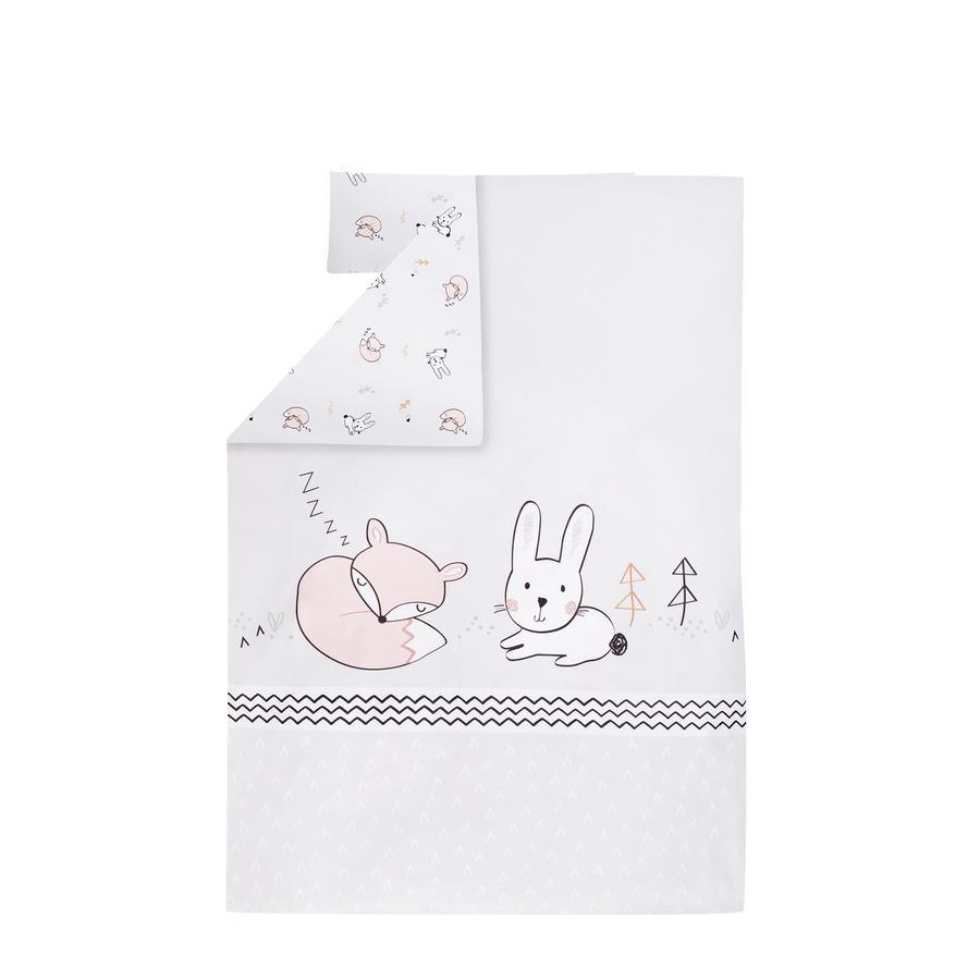 JULIUS ZÖLLNER Parure de lit enfant lapin renard 100x135 cm