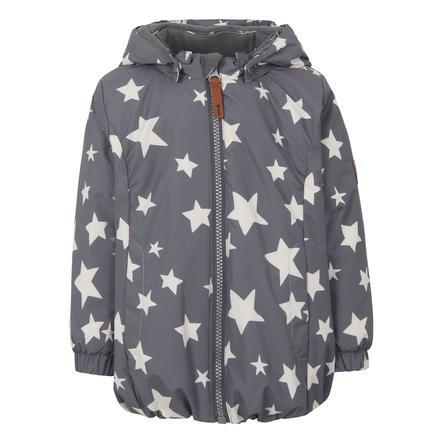 TICKET TO HEAVEN Jacke Althea mit abnehmbarer Kapuze, grau mit Sternen