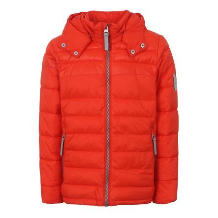 TICKET TO HEAVEN Giacca Lightweight Padding Chris con cappuccio staccabile, arancione