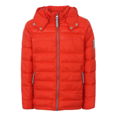 TICKET TO HEAVEN Jacke Lightweight Padding Chris mit abnehmbarer Kapuze, orange