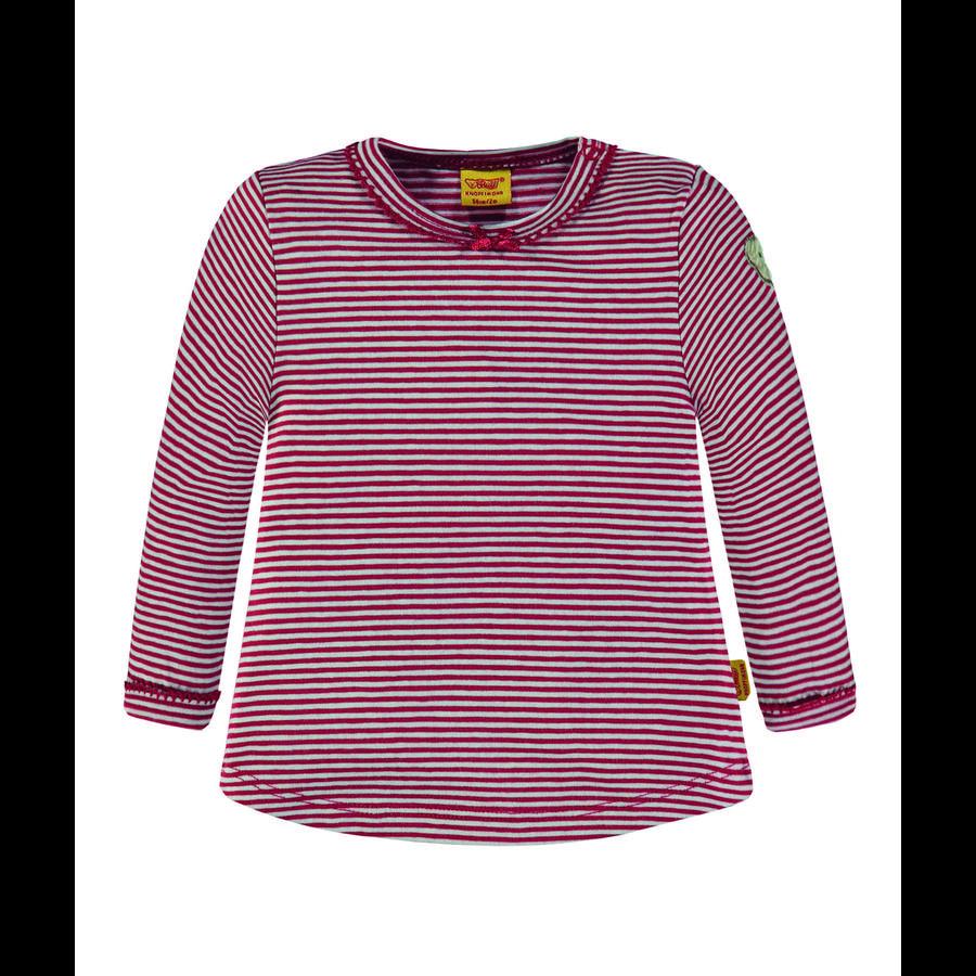 Steiff Girls Langarmshirt, tango red