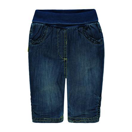Steiff Girl s Jeans, denim bleu foncé