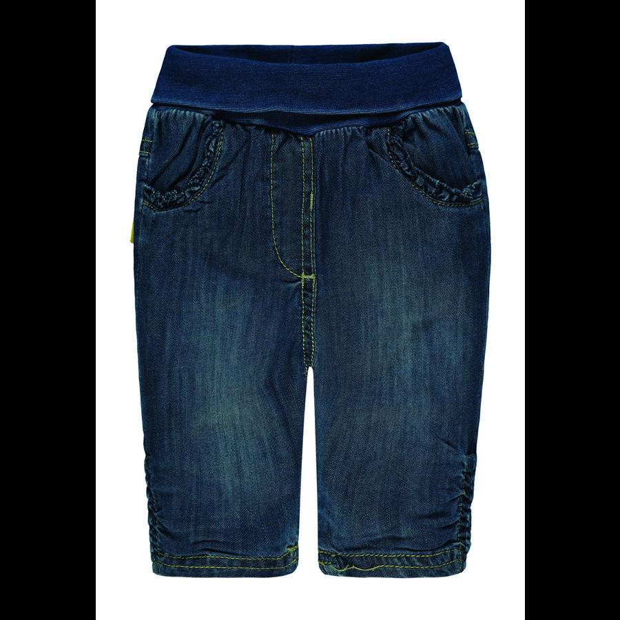 Steiff Girl s Jeans, donkerblauwe denim, donkerblauwe denim