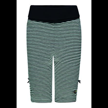 Steiff Girls Leggings, marine gestreift
