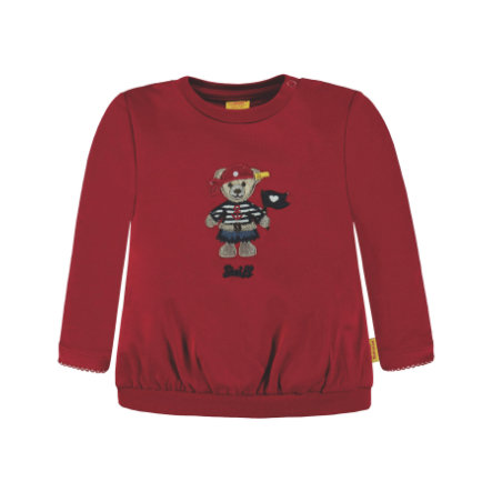 Steiff Girl s Sweatshirt, rouge avec Pirate
