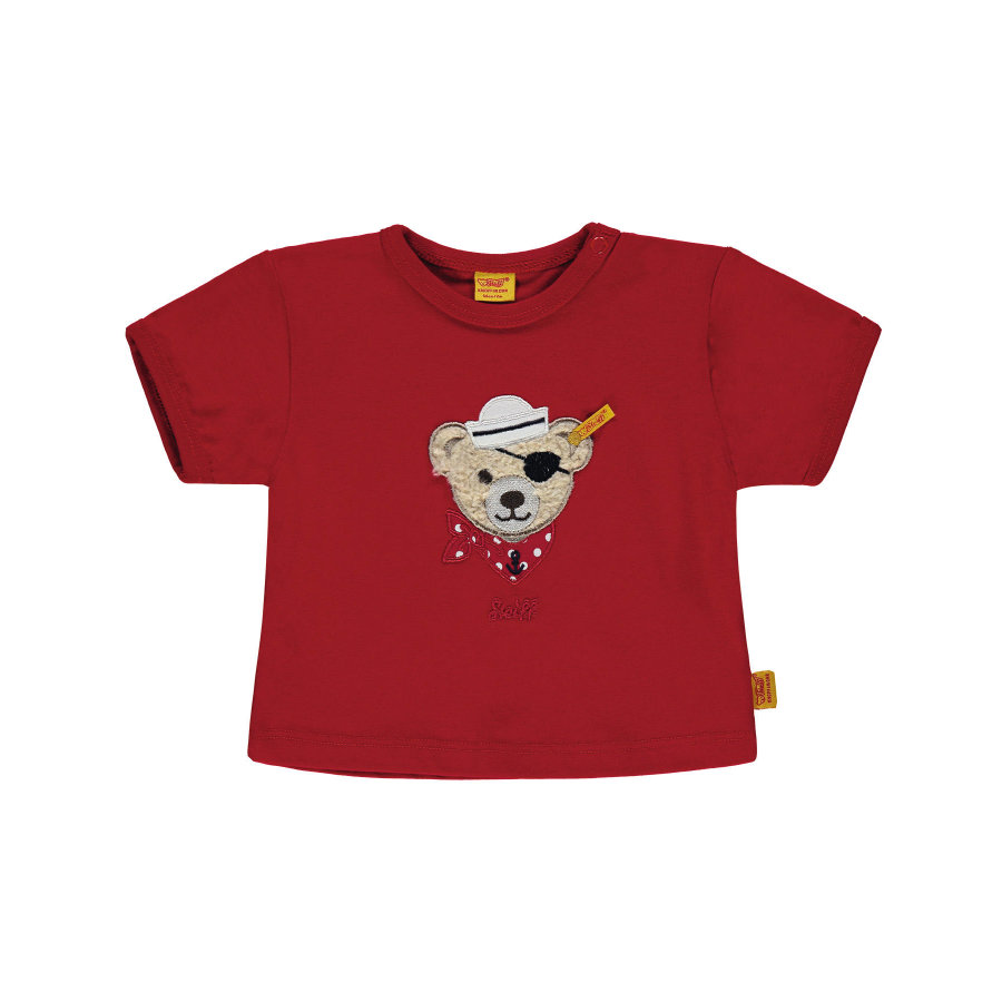 Steiff Boys T-Shirt Rood