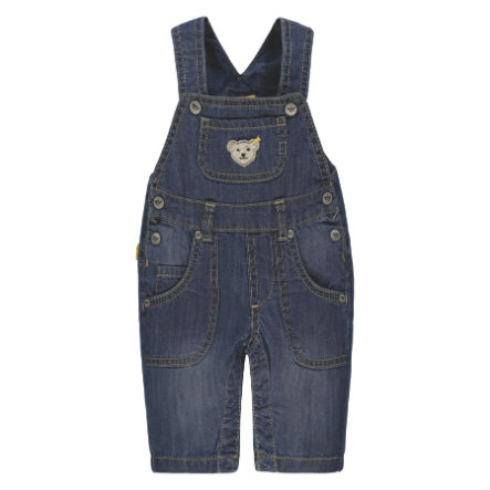 Steiff Latzhose, dark blue denim