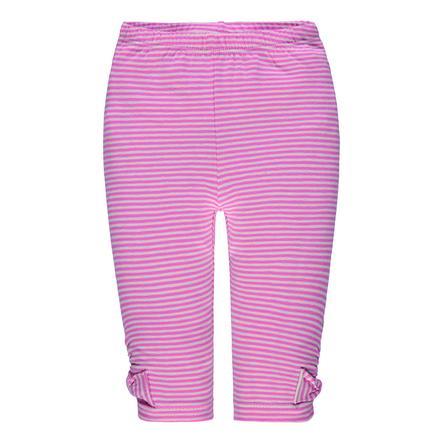 Steiff Girl s Leggingsleer, roze gestreept