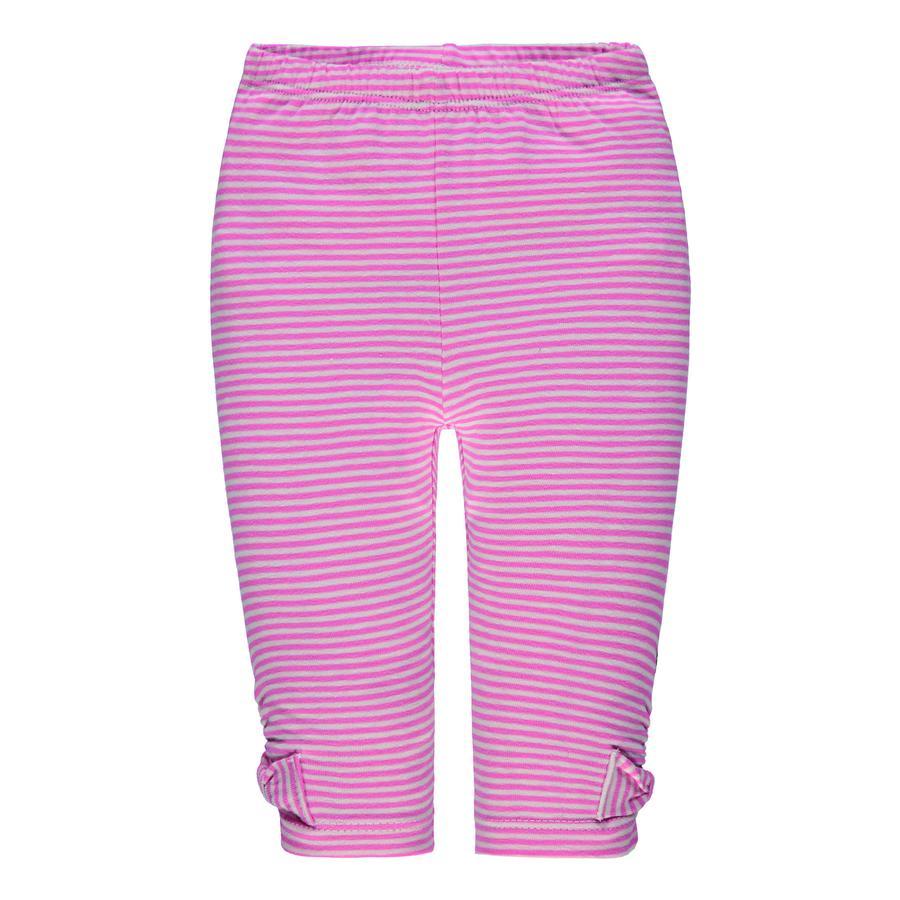 Steiff tyttöjen leggingsit, vaaleanpunainen raidallinen