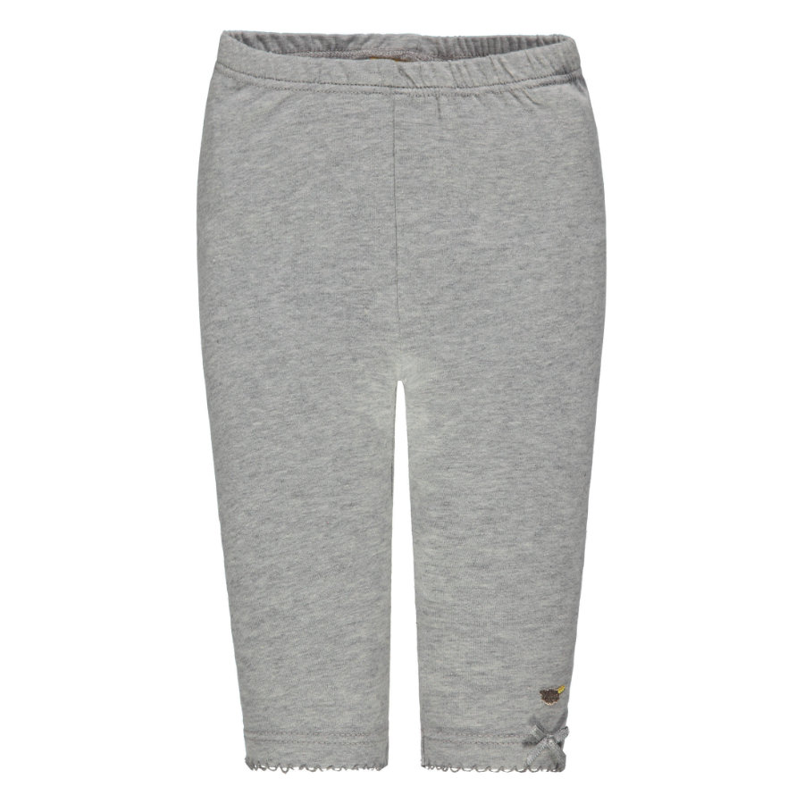 Steiff Girls Leggings, grau
