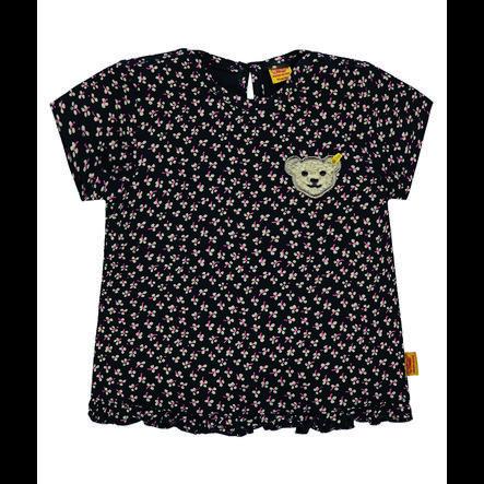 Steiff Girls T-Shirt mit Blumenmuster