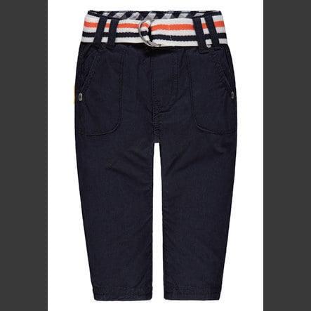 Steiff Boys Pantalon avec ceinture, marine