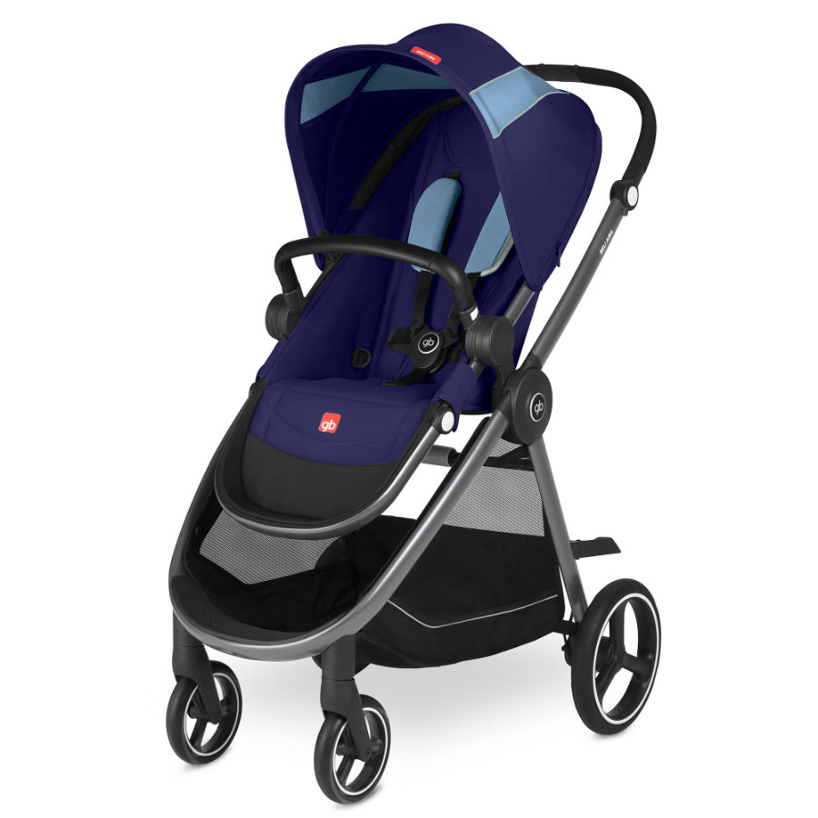 gb GOLD Kinderwagen Beli Air4 Sapphire Blue-navy blue