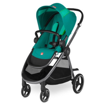gb GOLD Kinderwagen Beli Air4 Laguna Blue-turquoise