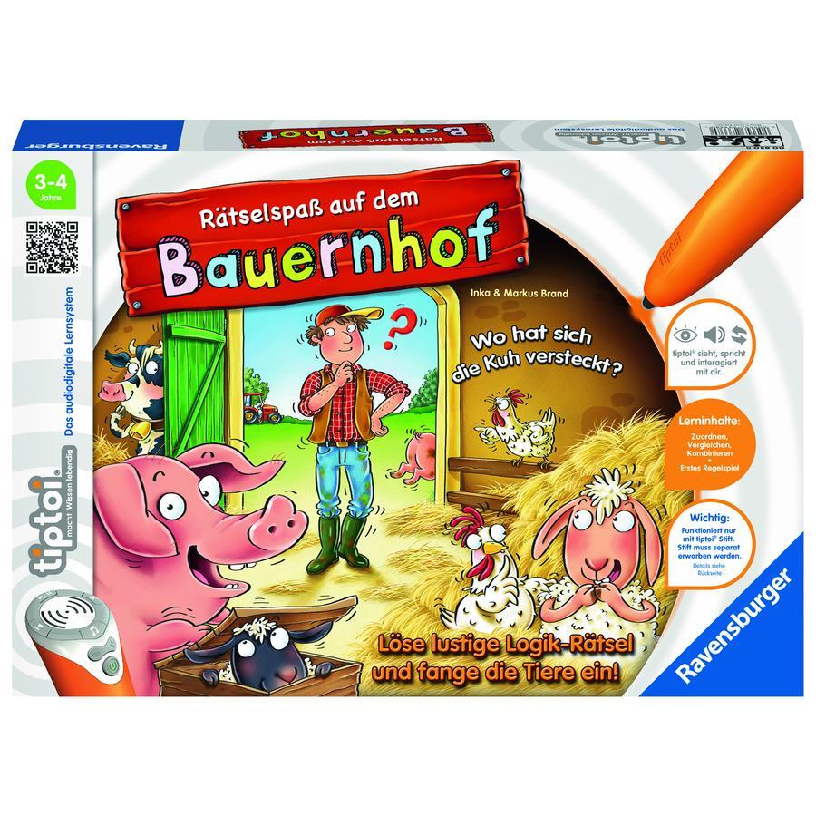 Ravensburger tiptoi® Puzzle divertimento in fattoria 00830