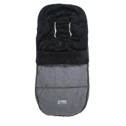 ALTABEBE Śpiworek zimowy Alpin do wózka Bugaboo i Joolz, ciemnoszary-czarny