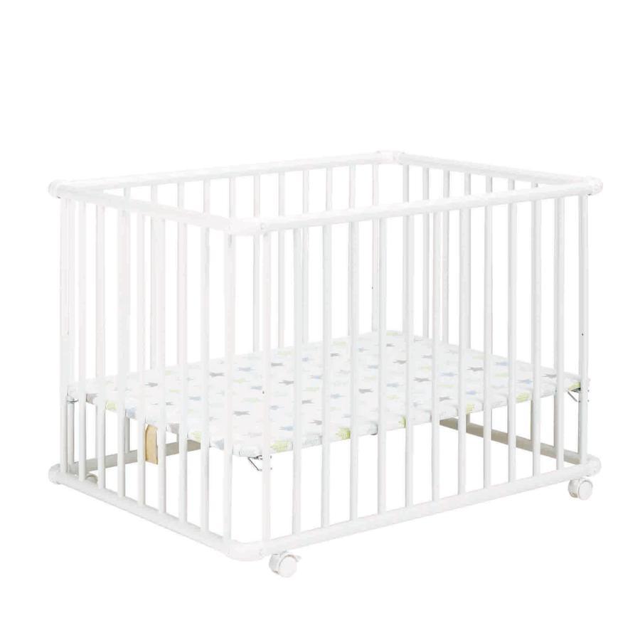 Geuther Parc bébé Belami Plus, blanc, 76 x 97 cm 032 Étoiles