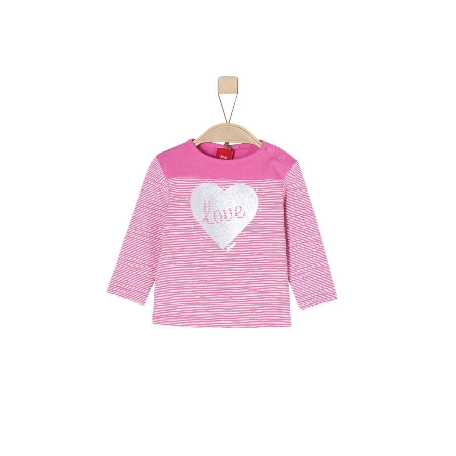 s.Oliver Girl s Camisa de manga larga rosa claro
