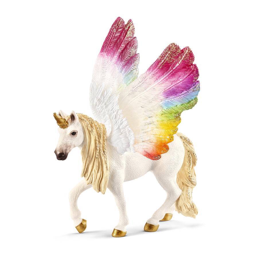 Schleich Unicorno arcobaleno alato 70576