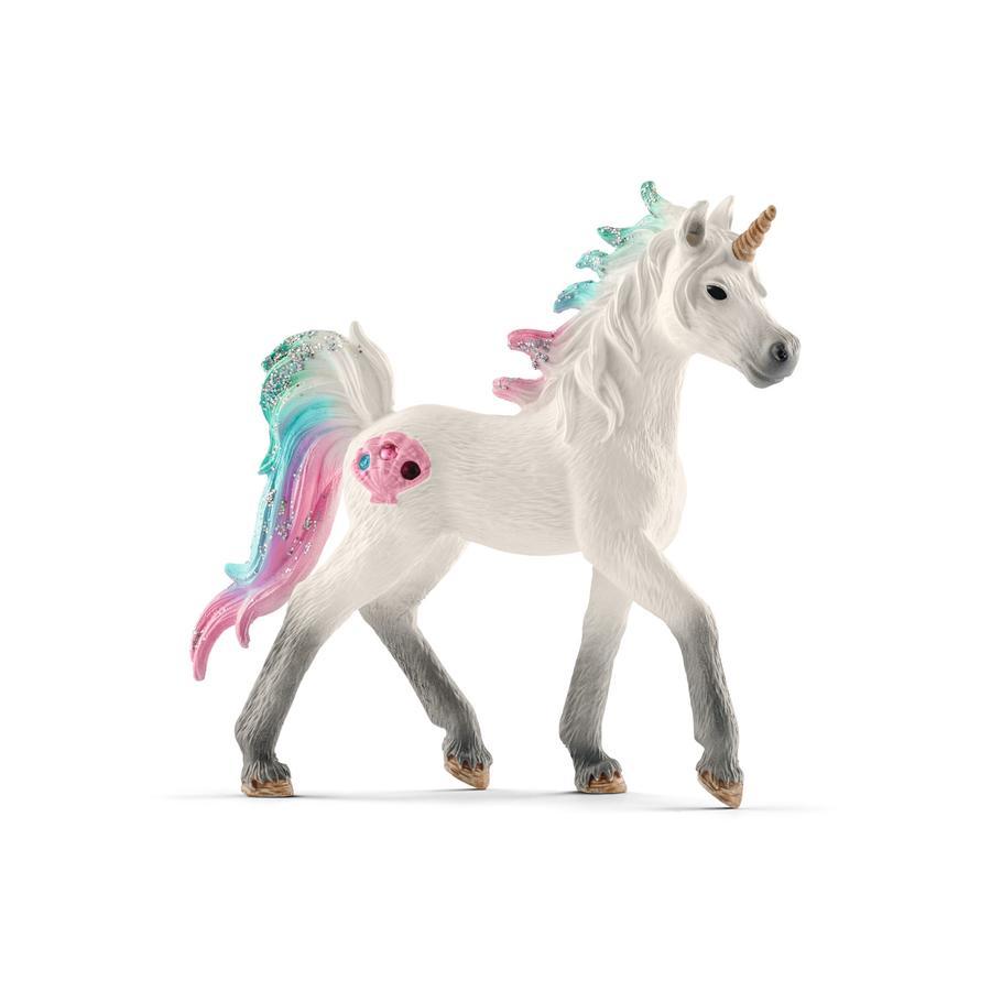 Schleich Figurine poulain licorne des mers 70572