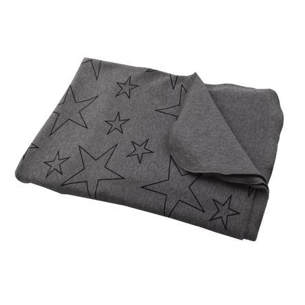 Hoppediz Lange d'emmaillotage bébé étoiles gris