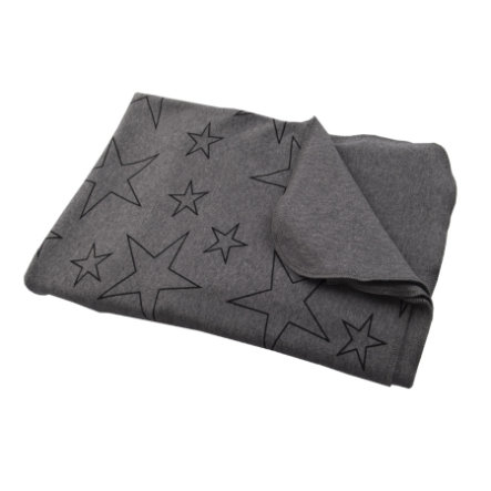 Hoppediz® svøpeteppe grå med stjerner