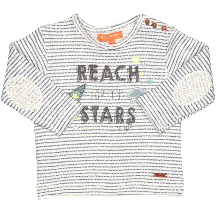 STACCATO Girl s Sweatshirt à rayures blanc cassé