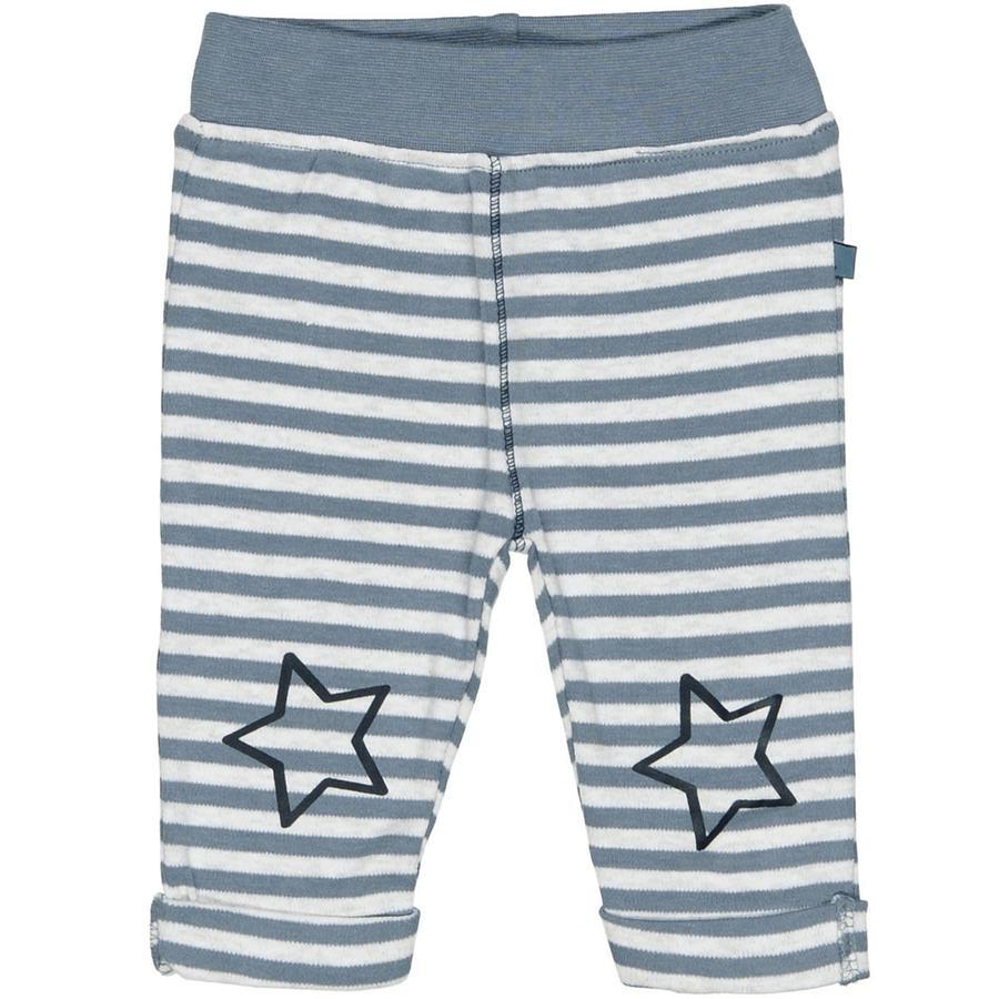 STACCATO Boys Pantalones de mélange azul rayas
