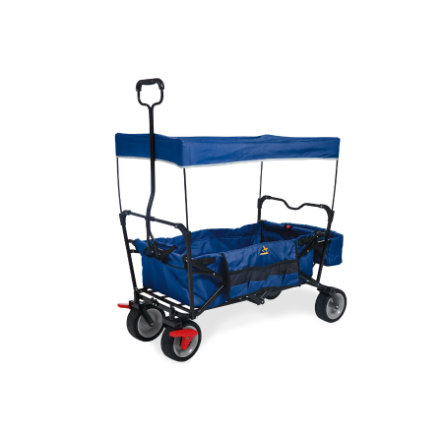 Pinolino Składany wóz na kółkach Paxi dlx Comfort z hamulcem blue
