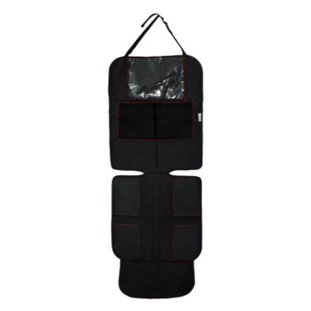 AXKID Sitzschutz Deluxe, schwarz